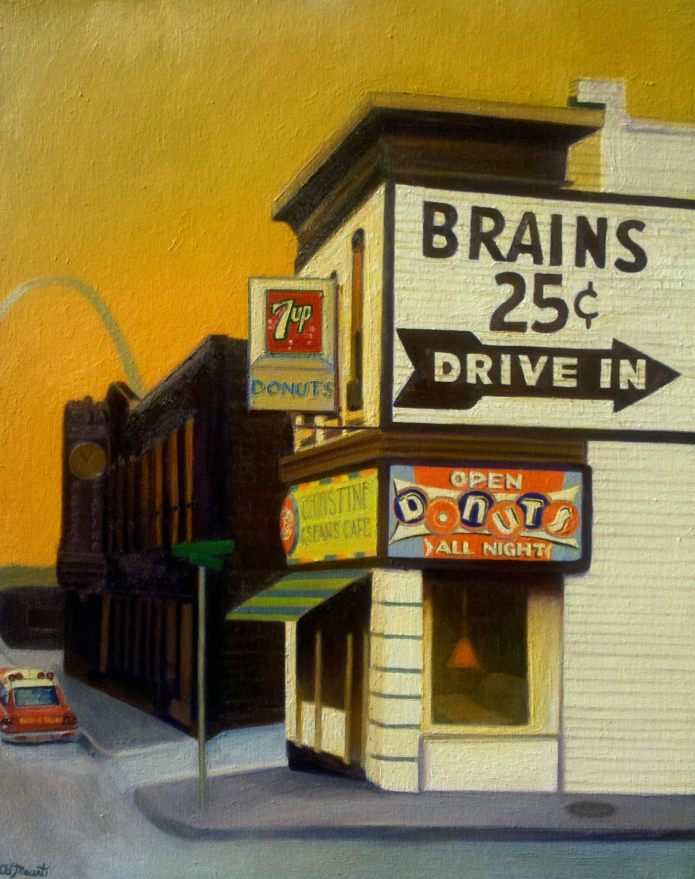 Name the cross streets! Brains and Donuts