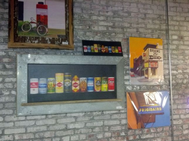 Framed Print: Beer Can Collection