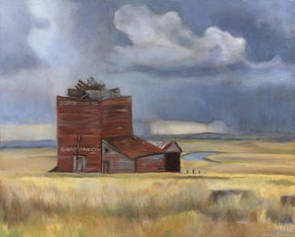 """Bingo Grain Company (10"""" x 12.5"""") http://goo.gl/QlwqER All canvas prints are in limited editions and are signed by me. Copyright (C) reserved."""