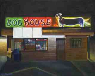"""Dog House (10"""" x 12.5"""") http://goo.gl/O2J1I2 All canvas prints are in limited editions and are signed by me. Copyright (C) reserved."""