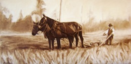 Plowing the Fields Original: Sold. No prints.