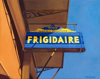 """Shawnee Frigidaire (10"""" x 12.5"""") http://goo.gl/9dlUap All canvas prints are in limited editions and are signed by me. Copyright (C) reserved."""