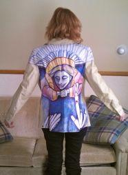 """Coat: """"Angel Cat"""""""